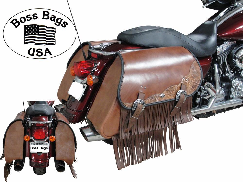 Motorcycle Saddlebags Electraglide Road King Flt Flh Harley