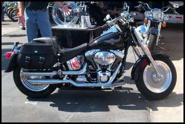 Harley Davidson  Fatboy Saddlebags